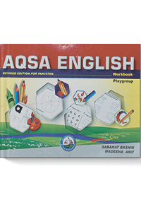 Aqsa English Workbook (Play Group)